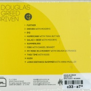 Back View : Douglas Greed - DRIVEN (CD) - BPitch Control / BPC288CD