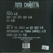 Back View : Toto Chiavetta - IMPERMANENCE PART TWO - Yoruba / YSD77-2