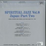Back View : Various Artists - SPIRITUAL JAZZ VOL.8: JAPAN, PT.2 (2LP) - Jazzman / JMANLP097