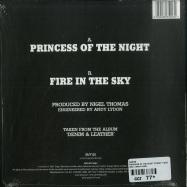 Back View : Saxon - PRINCESS OF THE NIGHT (LTD CLEAR 7 INCH) - BMG / BMCAT169SV