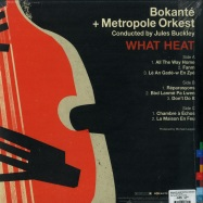 Back View : Bokante & Metropole Orkest & Jules Buckleye - WHAT HEAT (2LP) - Real World / LPRW221 / 39145891