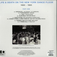 Back View : Various Artists - LIFE & DEATH ON THE NEW YORK DANCE FLOOR 1980-83 (2LP) - Reapearing / REAPPEARLP001PT1