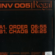 Back View : Regal - CHAOS EP (FULLCOVER VERSION) - Involve Records / INV005C