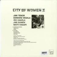 Back View : City of Women (Jimi Tenor, Edward Vesala...) - CITY OF WOMEN II (LP) - Sähkö / PUU47