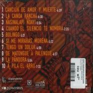 Back View : Dizzy Mandjeku & Ale Kuma - DE PALENQUE MANTONGE - Zephyrus / ZEP041