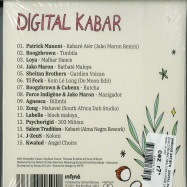 Back View : Various Artists - Digital Kabar - ELECTRONIC MALOYA FROM LA REUNION SINCE (CD) - Infine / IF1052
