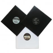 Back View : Jeff Derringer / Mark Henning - SOMA SALES PACK 002 (3X12 INCH) - Soma / SOMAPACK002