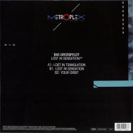 Back View : Bas Grossfeldt - LOST IN SENSATION - Metroplex / M 047