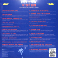 Back View : Fatboy Slim - BACK TO MINE: (YELLOW 2LP, RSD) - Back To Mine / Backlp31i