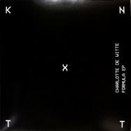 Back View : Charlotte De Witte - FORMULA EP - KNTXT / KNTXT010