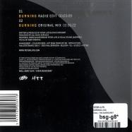 BURNING (CD)