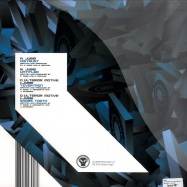Back View : Jubei & Alix Perez & Ulterior Motive - THE DISTRUST EP (2X12INCH) - Metalheadz / meth088