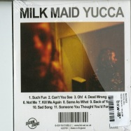 Back View : Milk Maid - YUCCA (CD) - Fatcat Records / fatcd108