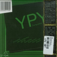 Back View : YPY - ZURHYRETHM (CD) - EM Records / EM1153CD