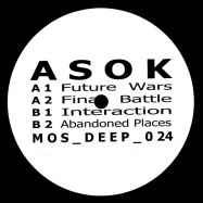 Back View : ASOK - FUTURE WARS EP - M>O>S Deep / mosdeep024