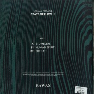 Back View : Diego Krause - STATE OF FLOW LP (PART 1) - RAWAX / RAWAX-S00.1