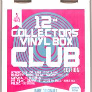 Back View : Various - COLLECTORS VINYL BOX: CLUB EDITION (5X12 INCH) - ZYX Music / MAXIBOX LP22