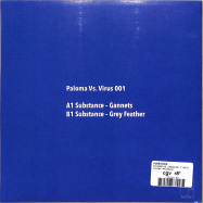 Back View : Substance - PALOMA VS. VIRUS 001 (7 INCH) - PALOMA / PALOMA001