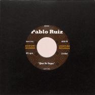 Back View : The Rebel & Pablo Ruiz - El Ray / Que Se Sepa - EL RAY / QUE SE SEPA (BLACK VINYL) (7 INCH) - Legofunk Records / LGF706