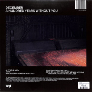 Back View : December - A HUNDRED YEARS WITHOUT YOU - VEYL / VEYL018