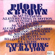 Back View : Rhode & Brown - EVERYTHING IN M (LP+MP3) - Permanent Vacation / PERMVAC225-1