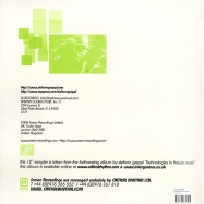 Back View : Stefano Greppi - TECHNOLOGIES IN HOUSE MUSIC - 12 Inch Vinyl Sampler Three - Screen015-6