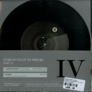 Back View : Laurine Frost, DJ Slip - STRENGTH IN NUMBERS PT. 4 (7 INCH) - Thema / Thema040.4