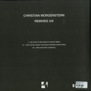 Back View : Christian Morgenstern - REMIXES 3/8 - Konsequent Records / KSQ 041