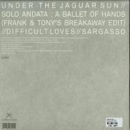 Back View : Frank And Tony - UNDER THE JAGUAR SUN - Scissor And Thread / SAT027