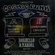 Back View : Credit 00 - THE COSMIC FUNK COLLECTION EP - Bordello A Parigi / BAP124