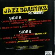 Back View : Godfather Don - JAZZ SPASTIKS REMIXES (LP) - Fresh Pressings / FPI015