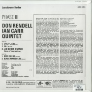 Back View : The Don Rendell & Ian Carr Quintet - PHASE III (180G LP) - Jazzman / JMANLP109X