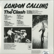 Back View : The Clash - LONDON CALLING (2019 LIMITED SPECIAL SLEEVE) (2LP) - Sony / 19075978671