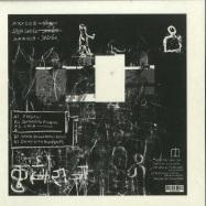 Back View : Stijn Sadee - XXX008 (WITH MANFREDAS REMIX) - XXX The Label / XXX008