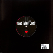 Back View : Unknown - NEED TO FEEL LOVE / I NEED YOUR LOVING (RED MARBLED 10 INCH) - Fokuz Recordings / LOVE2020