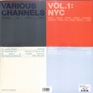Back View : Various Artists - VARIOUS CHANNELS 1: NYC (LP) - Darker Than Wax / DTW059LP / 05198041