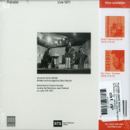 Back View : Placebo (Marc Moulin) - LIVE 1971 (OFFICIAL 2020 RE EDITION) (CD) - We Release Jazz / WRJ005CD
