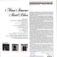 Back View : Nina Simone - PASTEL BLUES (180G LP) - Verve / 0719082
