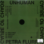 Back View : Unhuman, Petra Flurr - CAUSE OF CHAOS (LP) - She Lost Kontrol / SLK013