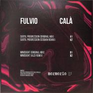 Back View : Fulvio Cala - MOR002 (INCL COSMJN / ALCI RMXS) - Mormorio Records / MOR002