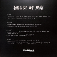Back View : Various Artists - HOUSE OF MO (2LP) - MoBlack Records / MBRV017