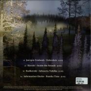 Back View : V/A (Juergen Vonbank, Slavaki, Adkovski, Information Ghetto) - INSIDE THE SOUNDS - Elusive / ELSVREC027