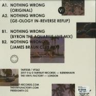 Back View : Wayne Snow - NOTHING WRONG (REMIXES) - Tartelet / TART038