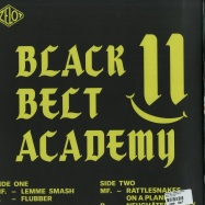 Back View : Prioleau / Manuel Fischer - BLACK BELT ACADEMY 2 - Ozelot / OZED002
