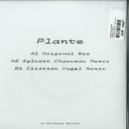 Back View : Rodolphe Coster - PLANTE (7 INCH) - Le Pacifique Records / PCFQ-HT01
