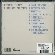 Back View : Etienne Jaumet - 8 REGARDS OBLIQUES (CD) - Versatile / VERCD38