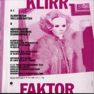 Back View : Gesetz Der Oktaven - KLIRRFAKTOR EP - Third Ear / 3eep201801