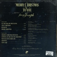 Back View : Joseph Washington Jr. - MERRY CHRISTMAS TO YOU FROM JOSEPH (GOLDEN LP) - Numero Group / NUM1245LPC2