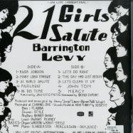 Back View : Barrington Levy - 21 GIRLS SALUTE (LP) - Jah Life / JL 042