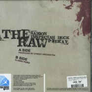 Back View : Saigon, Inspectah Deck & Bekay - THE RAW (LTD RED 7 INCH, RSD 2019) - Coalmine / CM00145